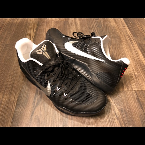 936b3475d280f Nike Kobe Xl TB Promo Black Silver Size 12.5